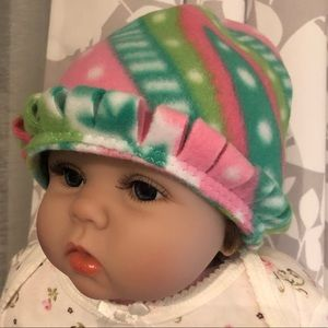 Cutie Baby Hat choose size tassel artisan newborn